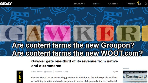 How Gawker Turned Into Groupon