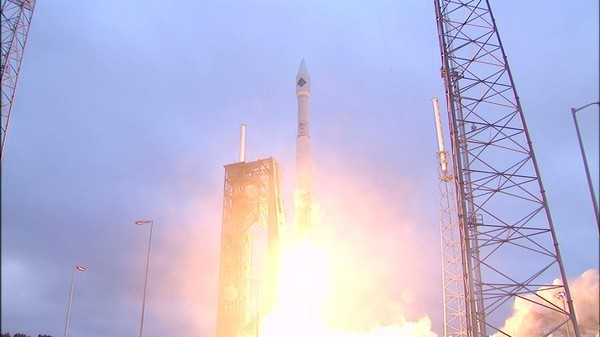 Cygnus Spacecraft Launches with Christmas Presents for ISS Astronauts