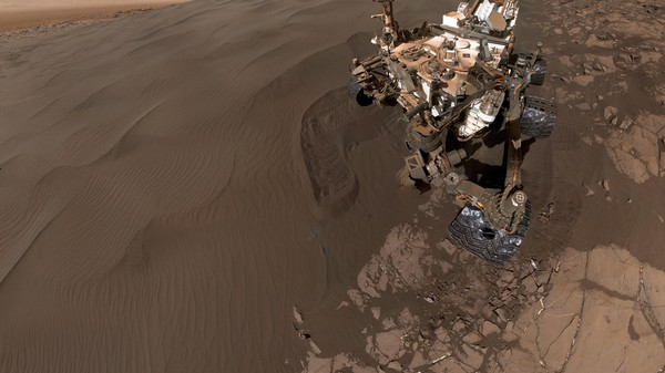 The Curiosity Mars Rover Is Such a Narcissist