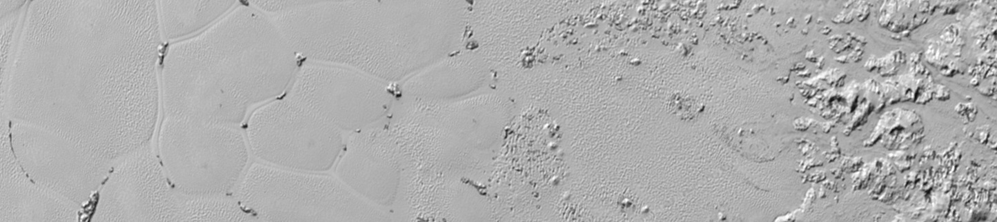 Pluto's Mysterious Floating