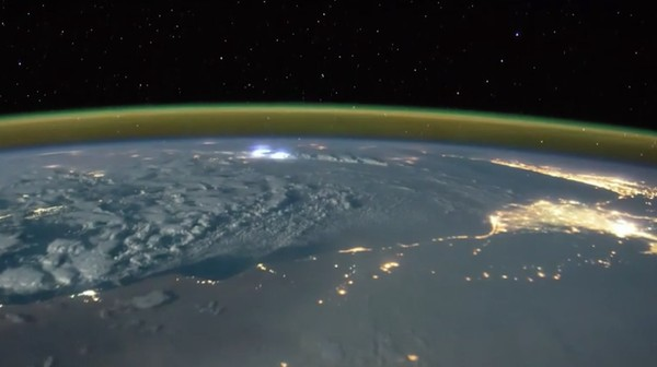 Watch Lightning Strike Earth in This Video Shot from the ISS