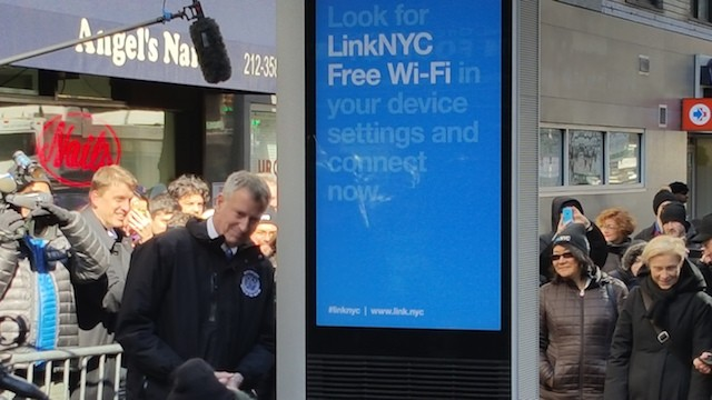 LinkNYC's New Free Network Is Blazing Fast. But At What Cost to Privacy?