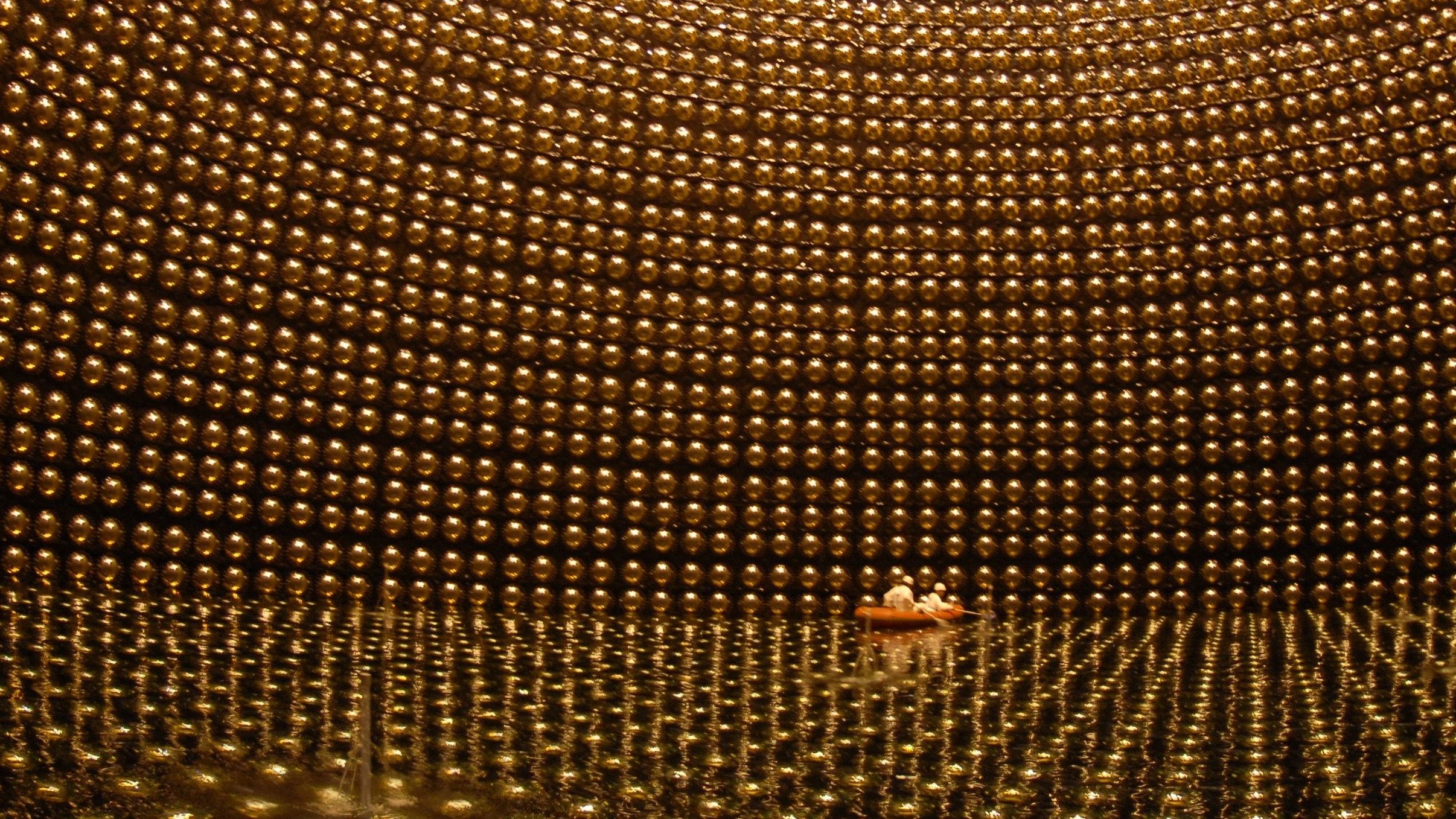 Why Neutrino Detectors Look So Damn Cool