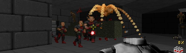 Playing as Duke Nukem in 'Doom II' Is Fun As Hell