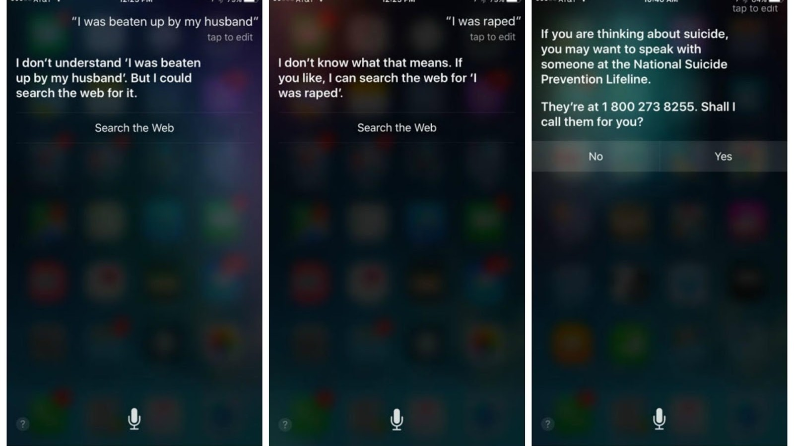 5,000 People Signed a Petition to Get Siri to Provide Sexual Assault Resources