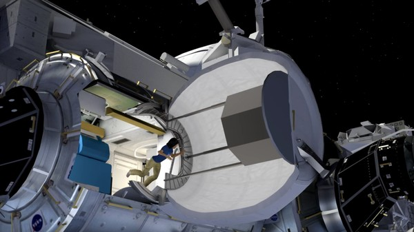 Here's an Animated Overview of the Space Station's New Inflatable Habitat