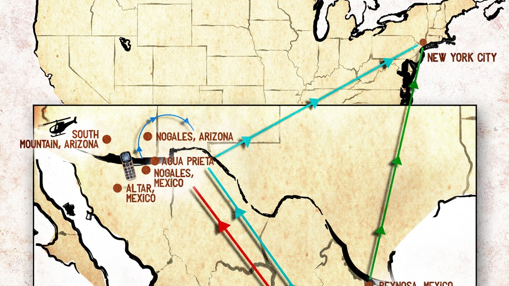 This Is What Illegally Crossing the US-Mexico Border Four Times Looks Like