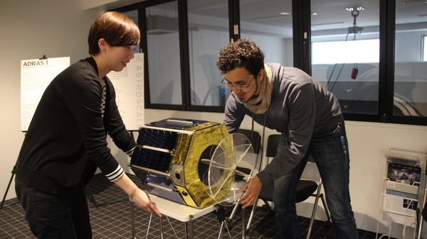 This Satellite Uses Special Glue to Stick to Space Debris Like Flypaper