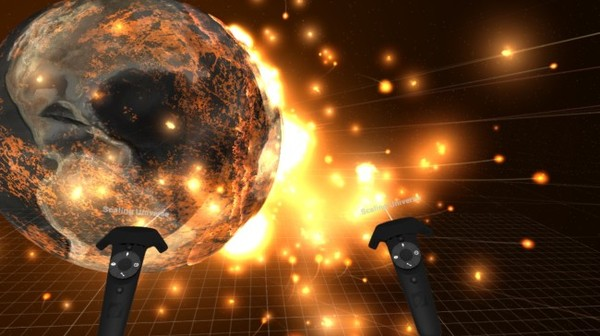 Chuck Mars Straight Into the Sun in This New VR Cosmic Simulator