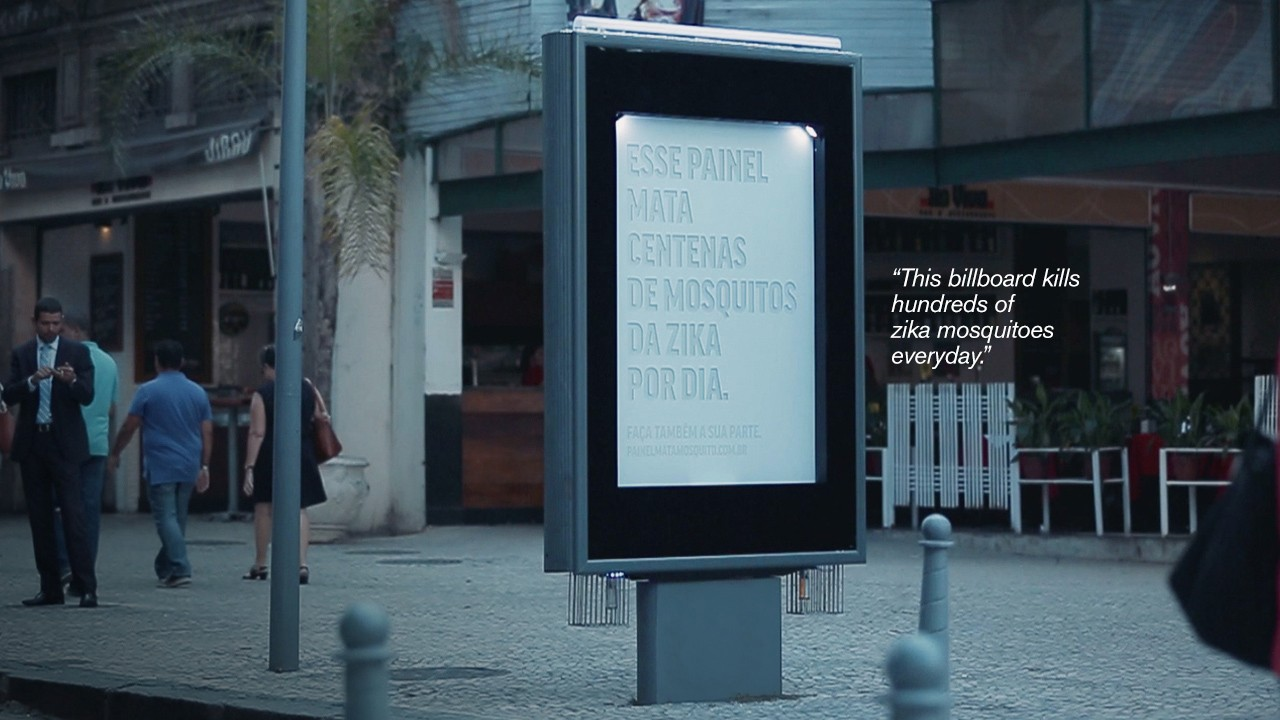 'Sweaty,' Mosquito-Luring Billboards Have Popped Up in Brazil