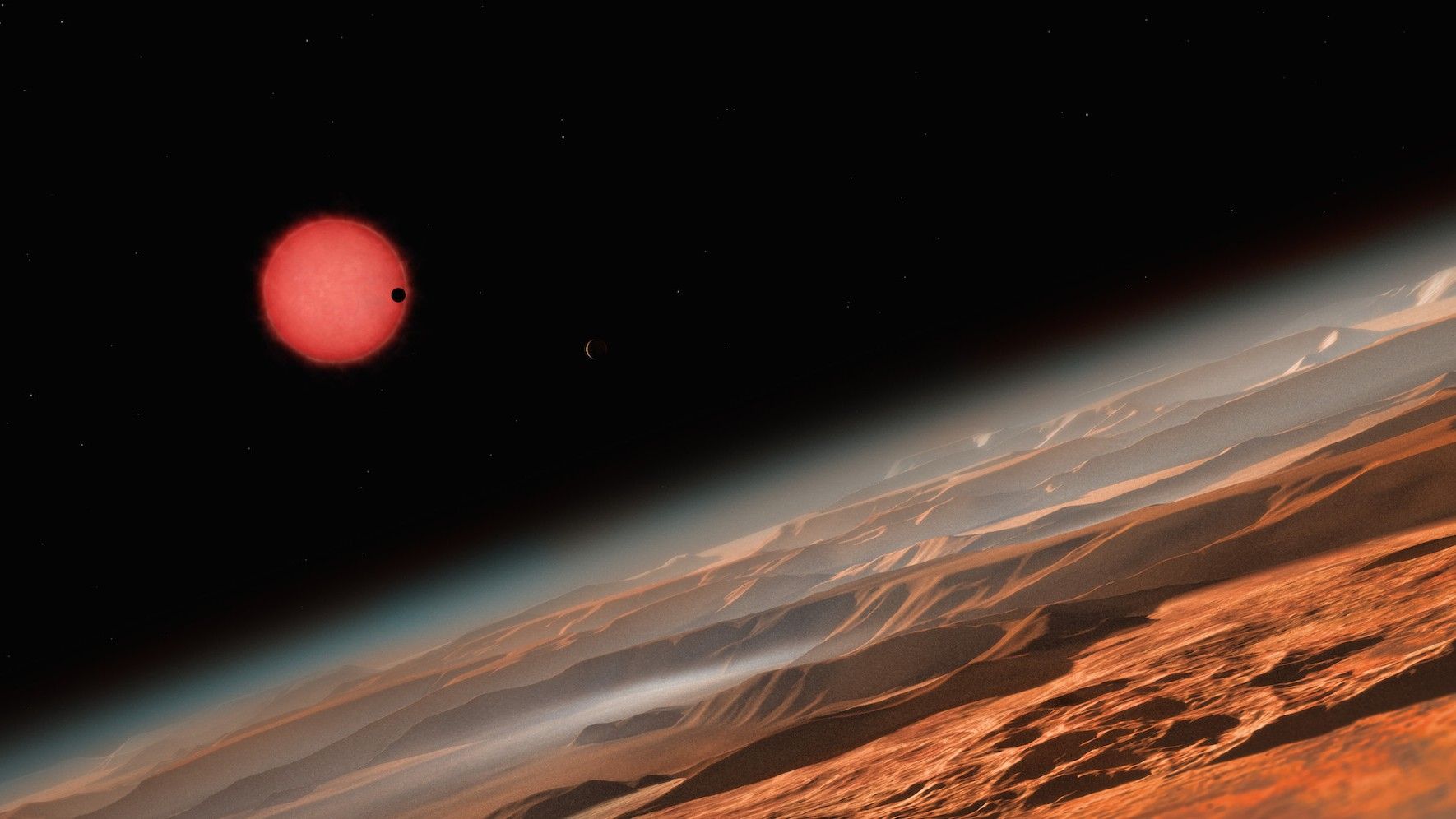 Three Potentially Habitable Planets Have Been Found in Our Cosmic Backyard