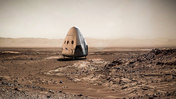 SpaceX Is Already Working on Legal Approval for Its 2018 Mars Flight