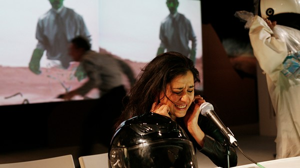 Inside the Surreal World of Sci-Fi Live Theater