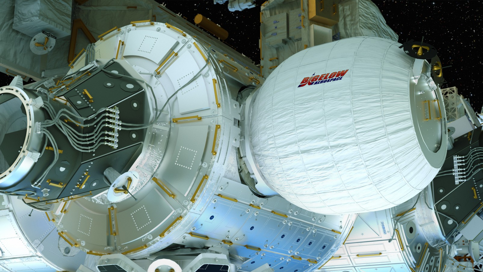 Astronauts Inflate Their First Expandable Habitat in Space