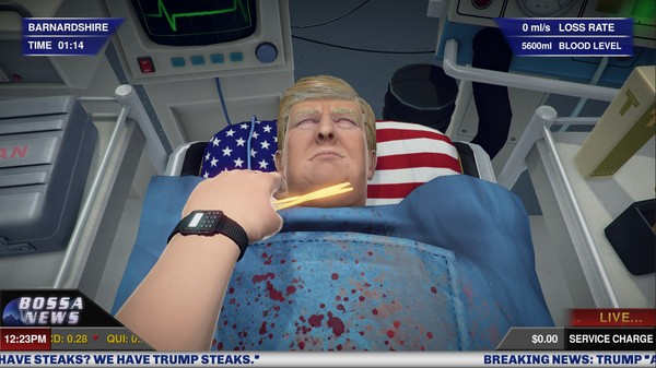 Give Donald Trump a New Heart in Latest 'Surgeon Simulator' Update