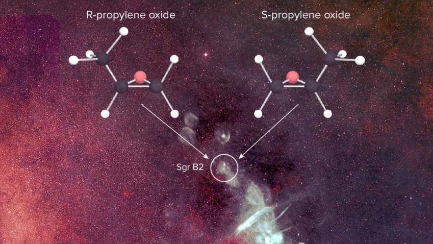 Astronomers Find 'Handed' Molecule in Space