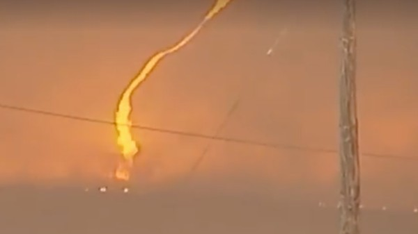 This 'Firenado' In a California Wildfire Looks Like Hell on Earth
