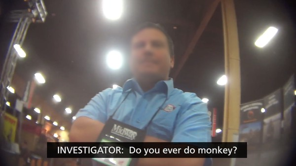 The Humane Society Took Secret Video at a Trophy Hunting Convention in Vegas