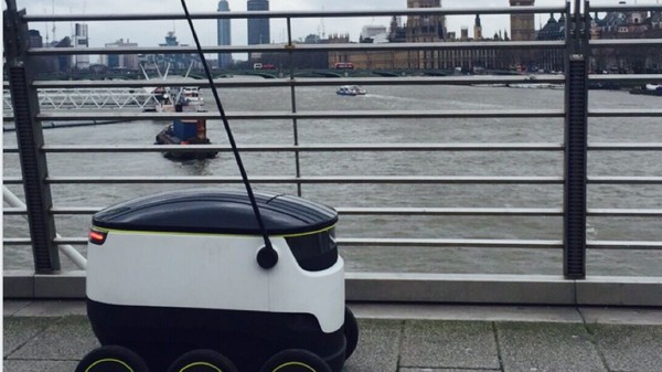 Robots Could Soon Be Delivering Pizza Across London