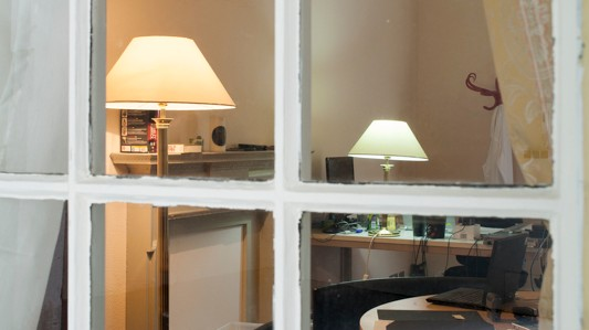 Step into A Replica of Julian Assange's Office