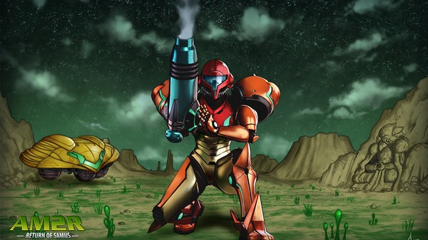 Play This Incredible Fan-Remake of 'Metroid 2' for Free
