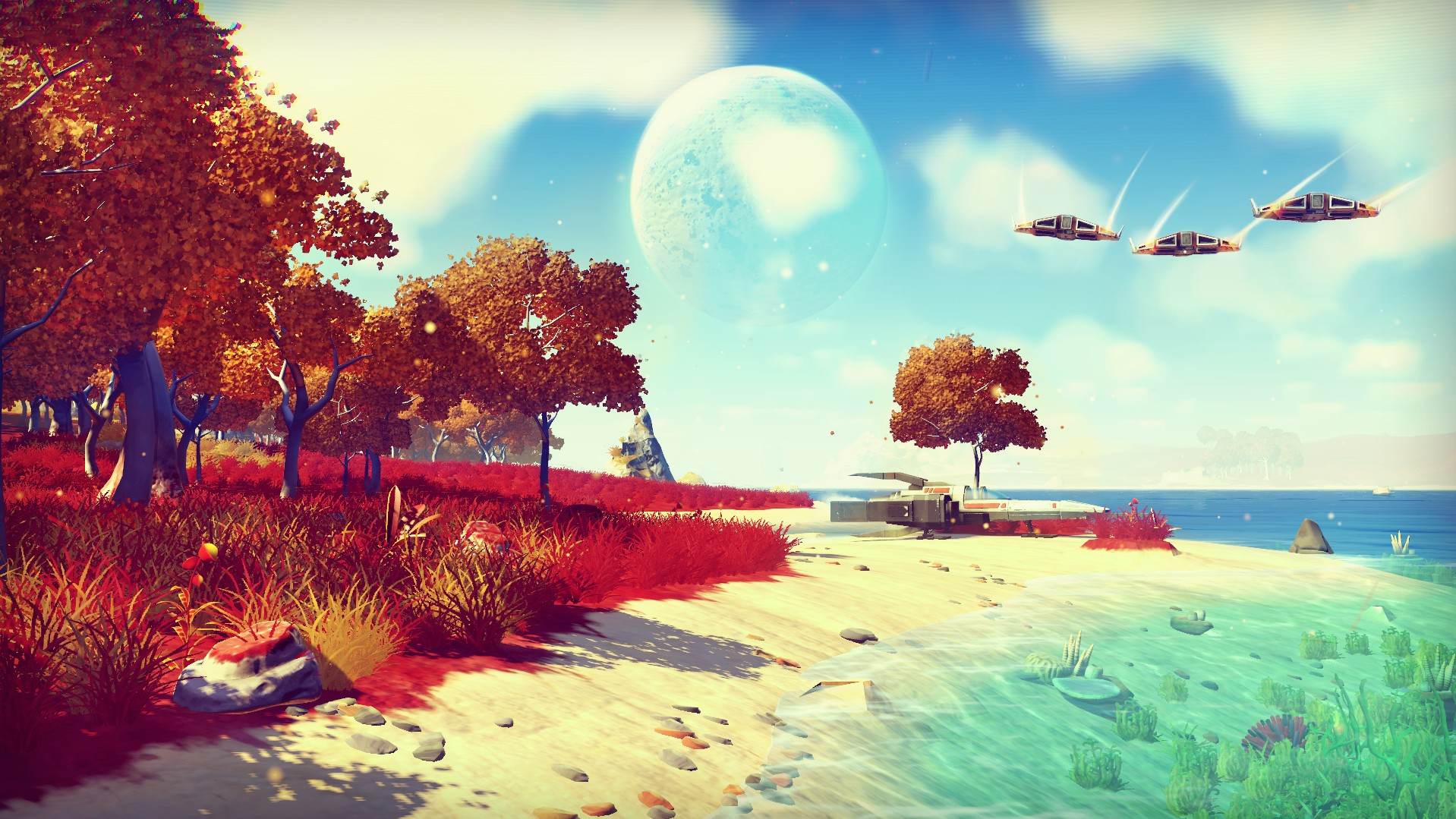 'No Man's Sky' Is Like 18 Quintillion Bowls of Oatmeal