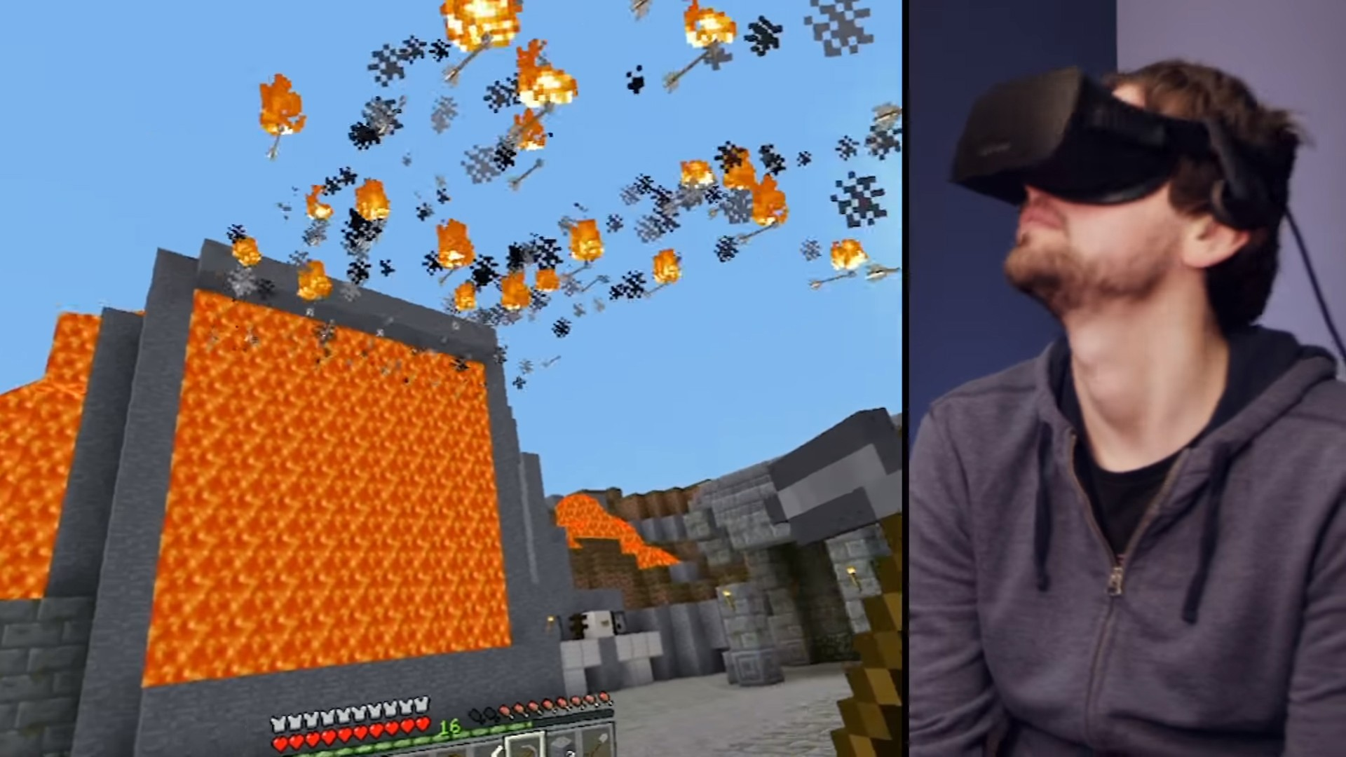 'Minecraft' VR Is the Best Game on the Oculus Rift, But That's Not Saying Much
