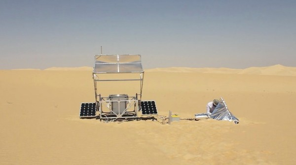 This 3D Printer Runs On Sand and Sun