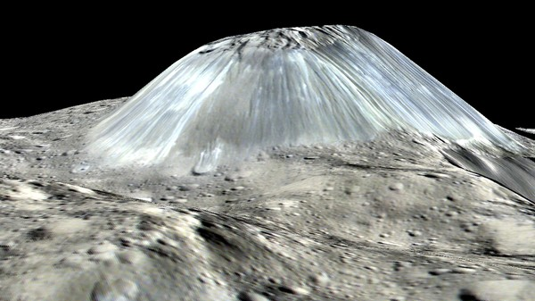 Ceres Is Home to an Ice Volcano Half the Size of Everest