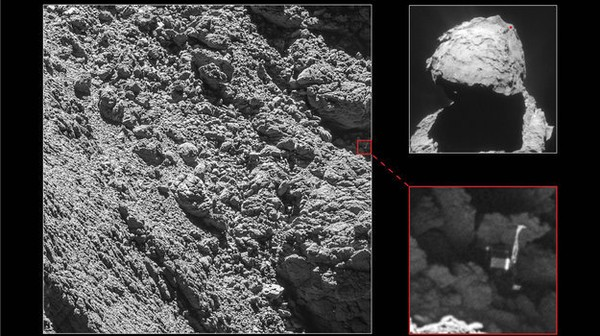Philae Found! Comet Chaser Rosetta Spots Lander Weeks Before Its Death
