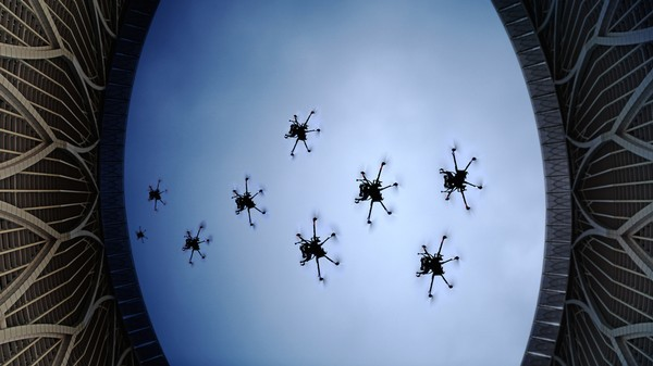 The UK Wants Swarms of Drones for Defence Missions