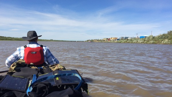 I Canoed to the Arctic Ocean, and What Did I Find? A Balmy Beach