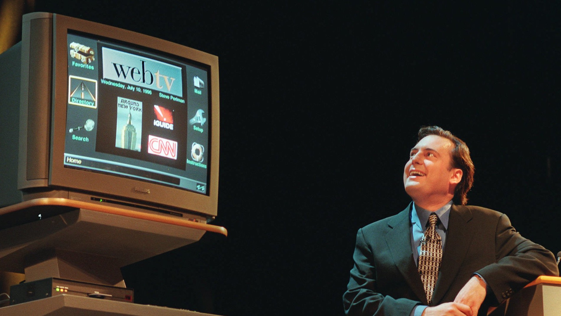 The Story of WebTV, the Smart TV of the 90s