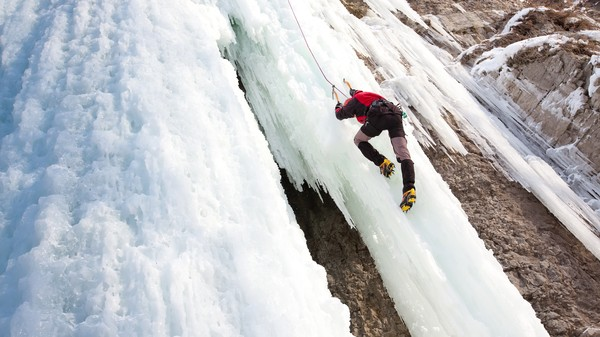 Gear Physics: How Ice Screws Keep Ice Climbers from Falling to Their Deaths