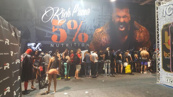 At the 2016 Mr. Olympia, Hints of Bro Food Science to Come