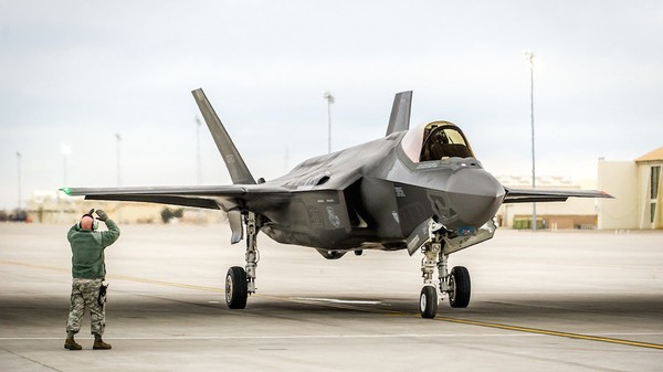 Yet Another F-35 Jet Caught on Fire While Starting Its Engine