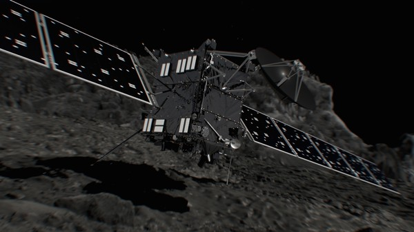 Goodbye Rosetta, the Comet Orbiter Sacrificing Itself for Science