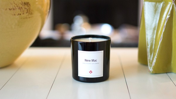 This Candle Smells Like a Brand New Mac Because We're Out of Control
