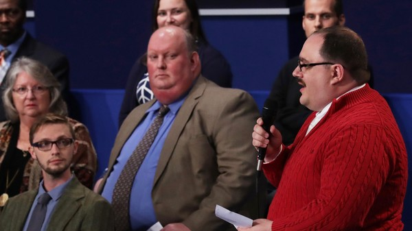 Ken Bone's Question About Energy Policy Was Pretty Great