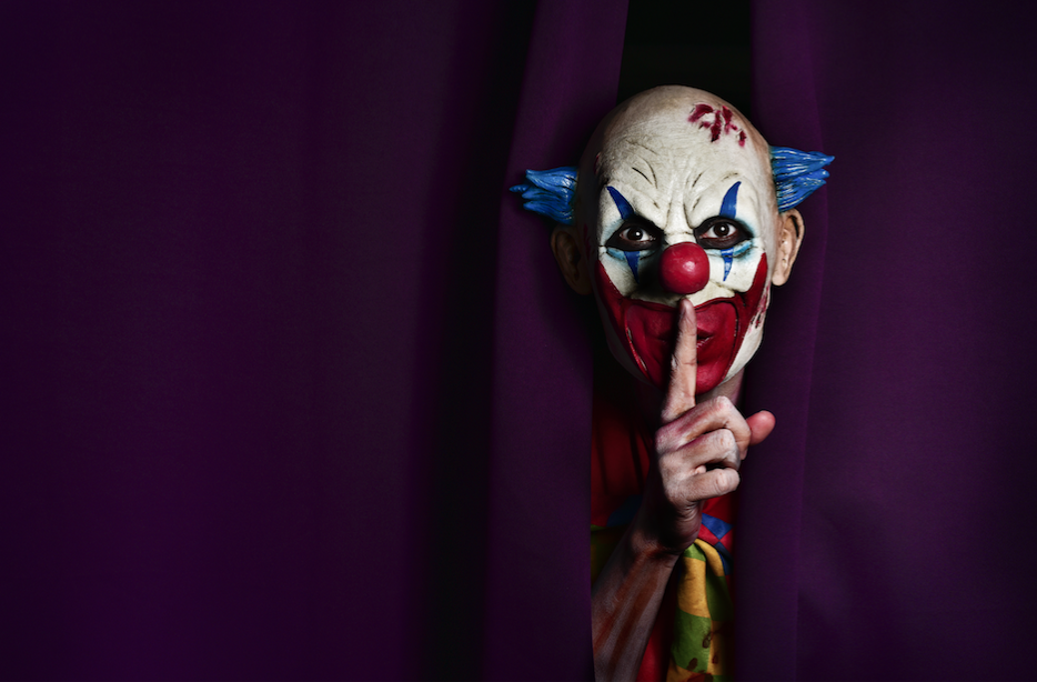 Stop Being Afraid of Clowns