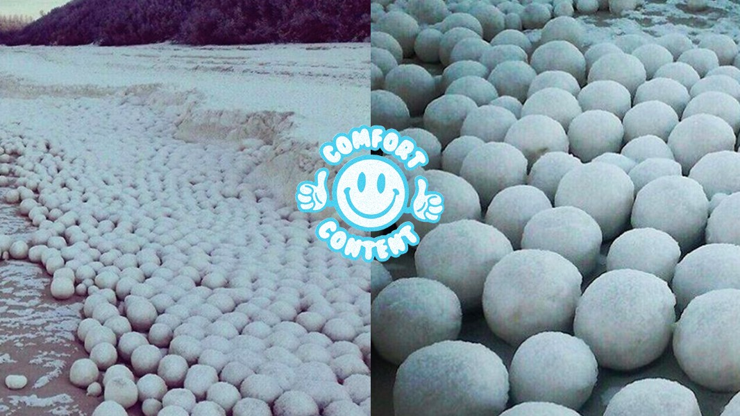 Thousands of Snowballs on This Siberian Beach Are Straight From a Fairy Tale