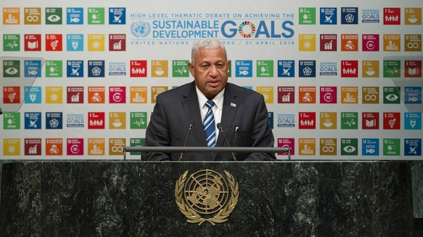 Fiji's Prime Minister Pleads With Trump: 'Save Us' From Climate Change