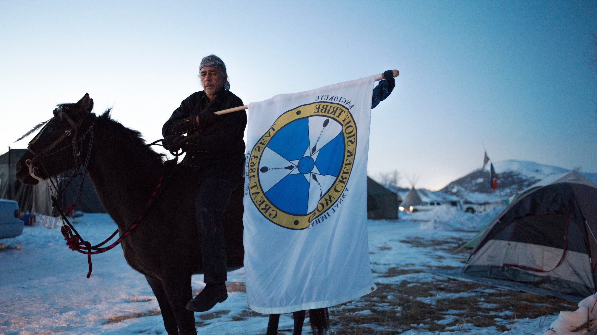 The Standing Rock Water Protectors Aren't Leaving