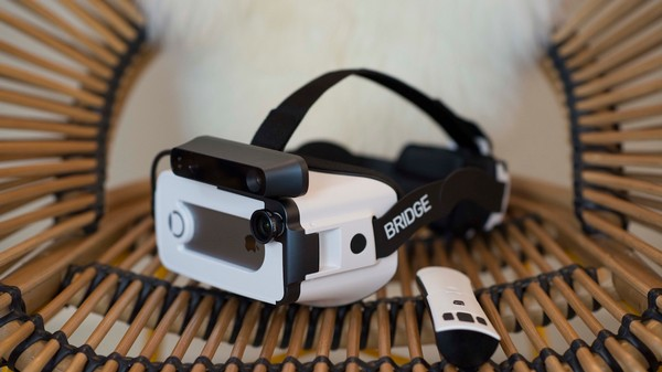 An iPhone-Powered VR Headset Promises Positional Tracking Without a Tether