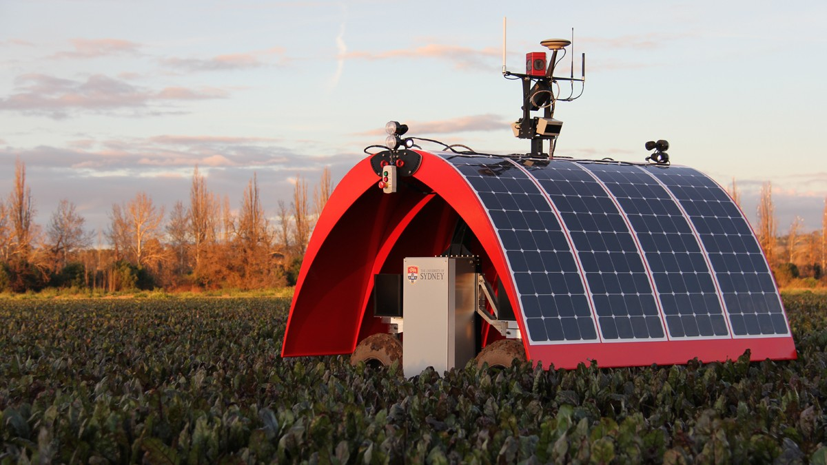 Solar-Powered Robot Farmers Are Almost Ready to Start Working the Land