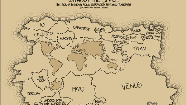 Deze kaart van het zonnestelsel maakt duidelijk waarom Pluto geen planeet is