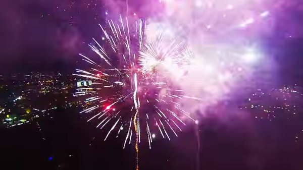Lots of Idiots Shot Fireworks at Their Drones This Independence Day