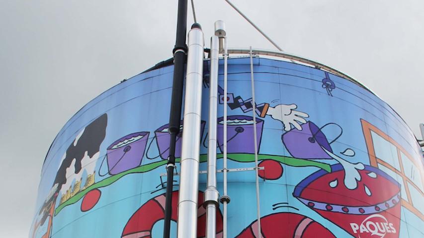 De Nederlandse fabriek van Ben & Jerry's draait op ijs