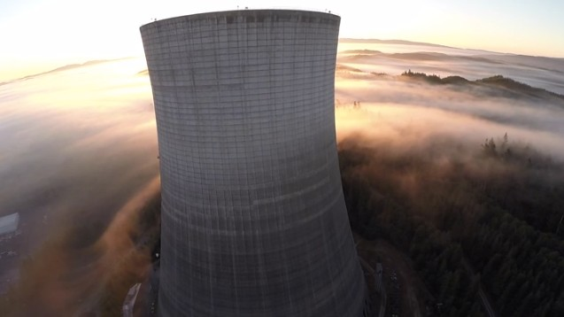 A Haunting Drone's Eye View of an Abandoned Nuclear Plant