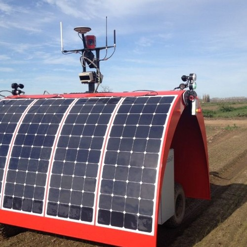 Watch an Autonomous Robot Farmer Harvest Data from the Field